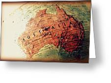 Vintage Australia Greeting Card