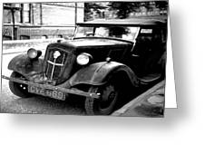 Vintage Autocar II Greeting Card