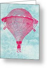 Vintage Balloon Greeting Card