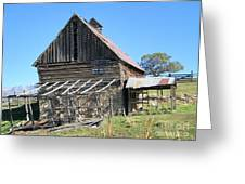 Vintage Barn Beauty Greeting Card