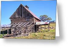 Vintage Barn Beauty II Greeting Card