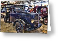 Vintage Bedford  Pickup Truck Greeting Card by Douglas Barnard