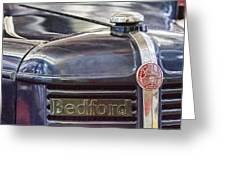 Vintage Bedford Truck Greeting Card