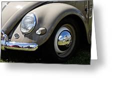 Vintage Beetle Greeting Card