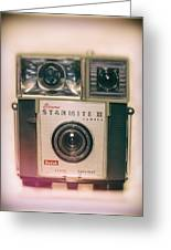 Vintage Brownie Starmite Camera Greeting Card