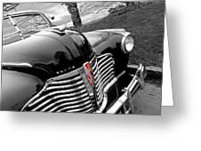 Vintage Buick 8 Greeting Card