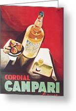 Vintage Campari Greeting Card
