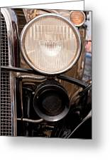 Vintage Car Details 6295 Greeting Card