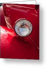 Vintage Car Details 6298 Greeting Card
