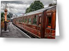 Vintage Carriages Greeting Card