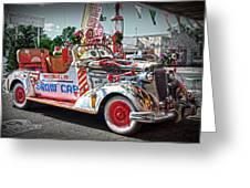 Vintage Chevrolet In Seligman Greeting Card