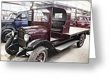 Vintage Chevrolet Pickup Truck Greeting Card by Douglas Barnard