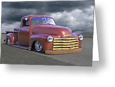 Vintage Chevy 1949 Greeting Card