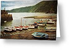 Vintage Clovelly Greeting Card