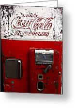 Vintage Coca Cola Greeting Card