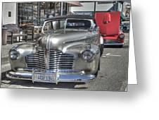 Vintage Cruise Cars 6 Greeting Card