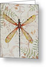 Vintage Dragonfly-jp2563 Greeting Card