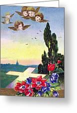 Vintage Easter Card Greeting Card
