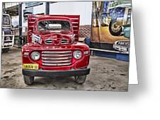 Vintage Ford Truck Greeting Card