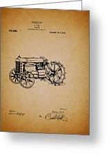 Vintage Henry Ford Tractor Patent Greeting Card
