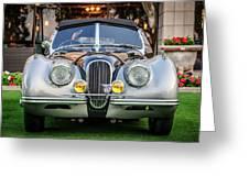 Vintage Jaguar -0924c Greeting Card