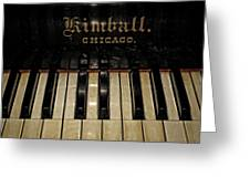 Vintage Kimball Piano Greeting Card
