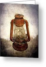 Vintage Lantern Greeting Card