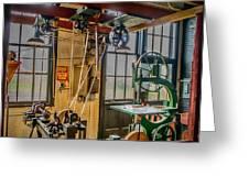 Vintage Michigan Machine Shop Greeting Card