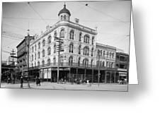 Vintage New Orleans 4 Greeting Card