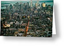 Vintage New York Skyline Greeting Card