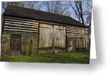 Vintage Pennsylvania Barn Greeting Card