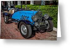 Vintage Peugeot 201 Greeting Card