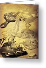 Vintage Photographs Greeting Card
