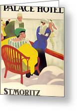 Vintage Poster 1936 Greeting Card