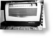 Vintage Radio Greeting Card