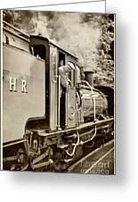 Vintage Railway Greeting Card
