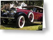 Vintage Rolls Royce Phantom Greeting Card