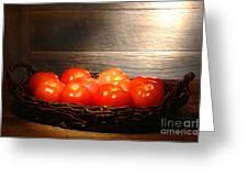 Vintage Tomatoes Greeting Card