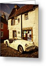 Vintage Touch. Culross Sketches. Scotland Greeting Card