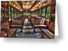 Vintage Trolley No. 948 Greeting Card