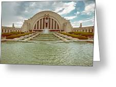Vintage Union Terminal Greeting Card