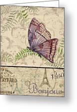 Vintage Wings-paris-i Greeting Card