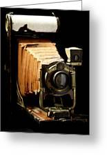 Vintaged Canadian Kodak Camera Greeting Card