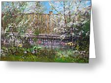 Viola's Apple And Cherry Trees Greeting Card