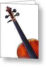 Violin Greeting Card