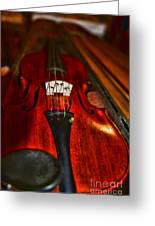 Violin Study Greeting Card