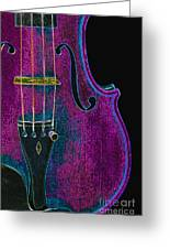 Violin Viola Body Photograph In Digital Color 3265.03 Greeting Card