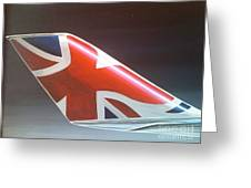 Virgin Atlantic Winglet Greeting Card