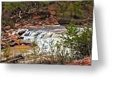 Virgin Falls Greeting Card