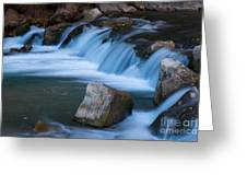 Virgin River Rapids Greeting Card